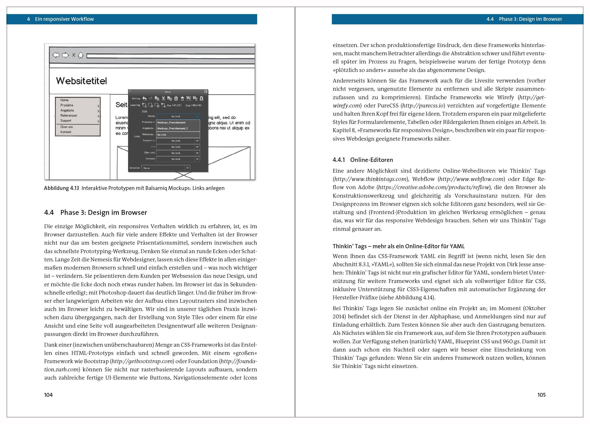 Responsive Webdesign: Anpassungsfähige Websites programmieren und ...