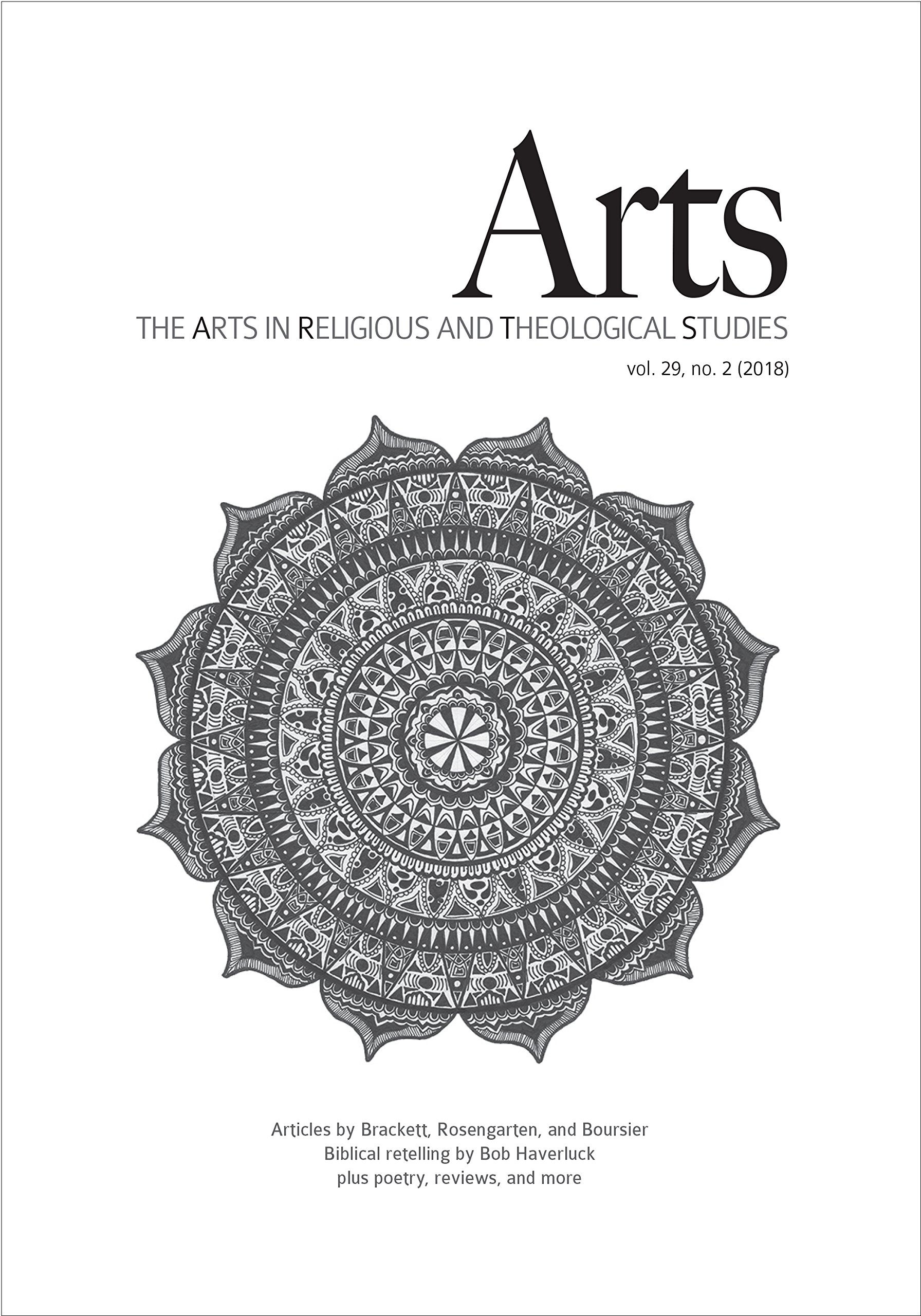 Download ARTS: The Arts in Religious and Theological Studies (vol. 29, no. 2) pdf