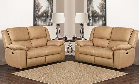 SC Furniture Ltd Color Beige Manual de Cuero de Calidad Alta ...