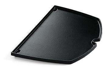 Weber Elektrogrill Grillplatte : Weber grillplate q amazon garten