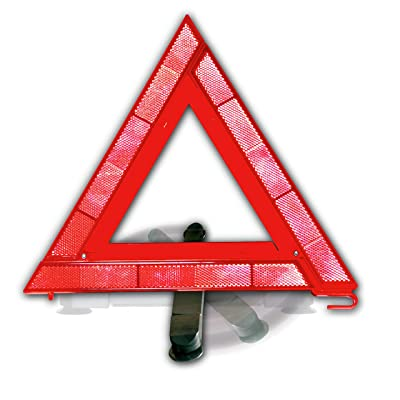 Justin Case Window Safety Reflective Triangle – Reflective Triangle for Roadside Emergencies: Home & Kitchen