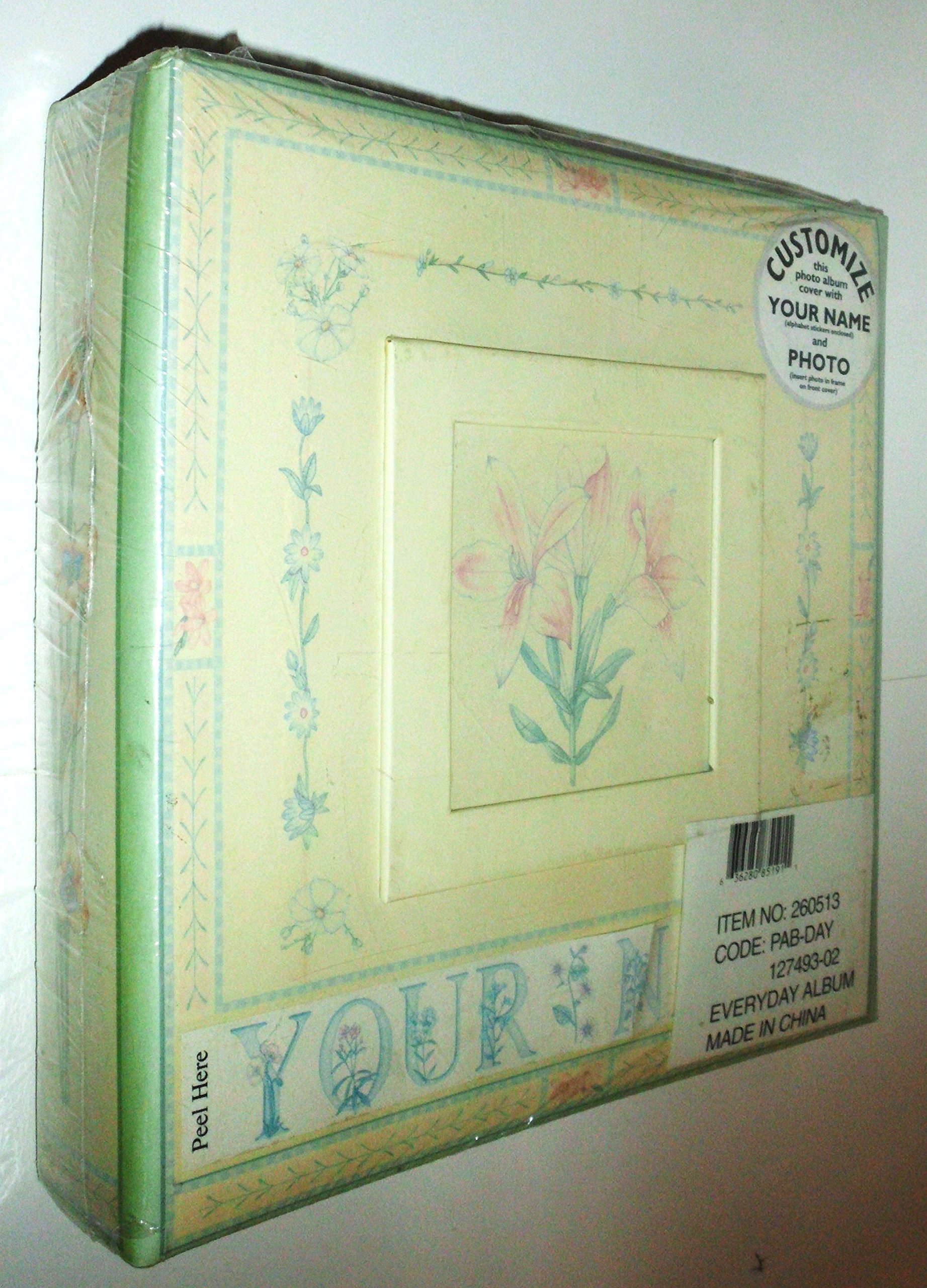 Havoc Everyday Photo Album - Floral - 260513 - 9'' x 9''