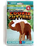 SUCK UK 3D Safari Cookie Cutters