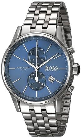 Hugo Boss 1513384 Blue Dial Jet Mens Chronograph Watch