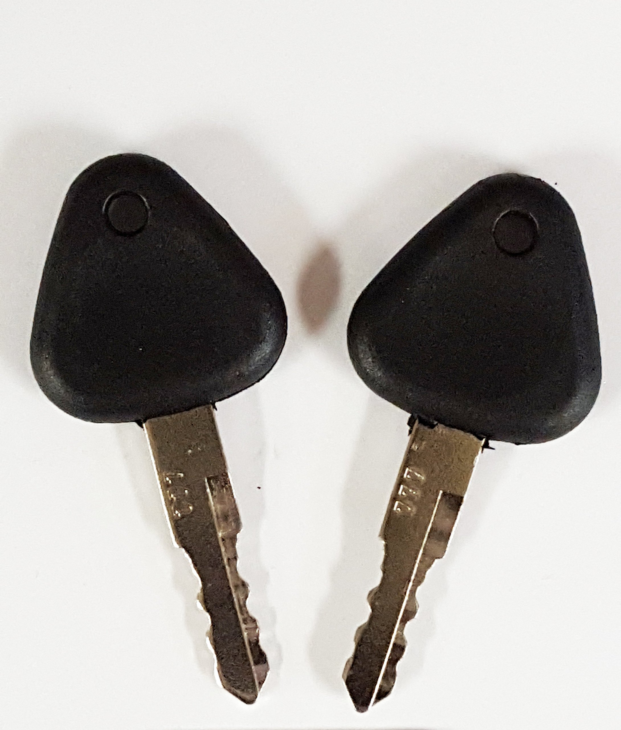 Galleon - 2 Keys Keyman Volvo Excavator Keys-1 Pair-Ignition Key For