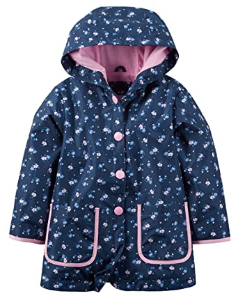 19602befe Amazon.com: Carter's Baby Girl Floral Raincoat: Clothing
