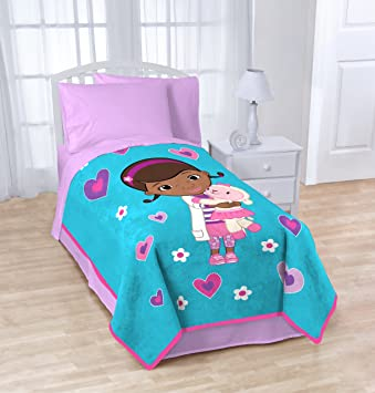 Amazon.com: Disney Junior Doc McStuffins Blanket: Home & Kitchen