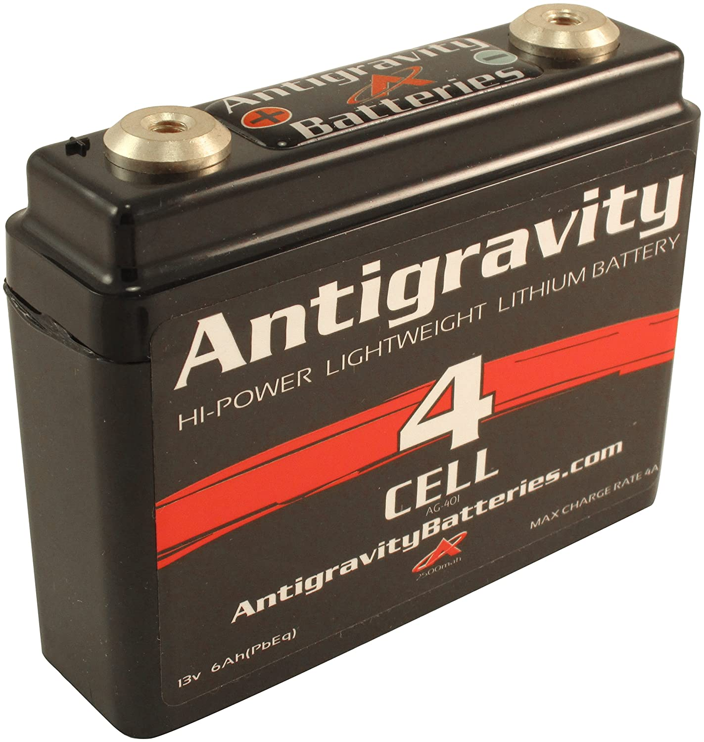 Antigravity Lithium Battery Small Case 4-Cell 120CA 6Ah AG-401