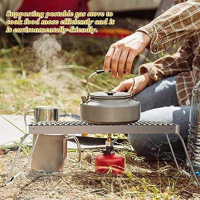 SENXILLER Folding Campfire Grill