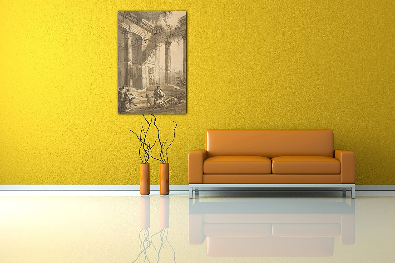 Impresión Sobre Lienzo (80x120cm): Antonio Zucchi - Artista ...