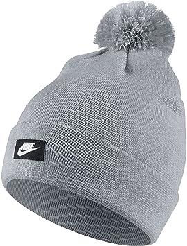 Nike 878119,012 Bonnet Mixte Adulte, Gris Loup/Blanc, FR Fabricant  Taille  Unique Amazon.fr Sports et Loisirs