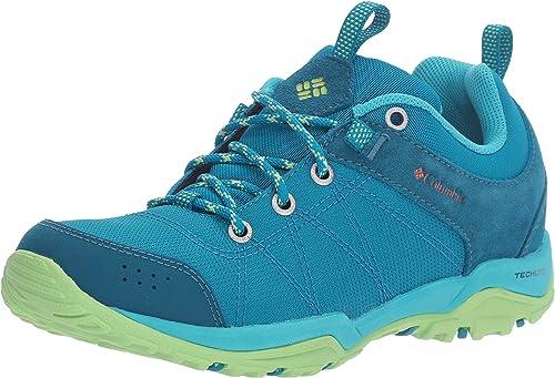 Columbia Fire Venture Textile Wmns, Zapatillas de Deporte Exterior para Mujer, Turquesa (Sea Level, Valencia 942), 41 EU: Amazon.es: Zapatos y complementos