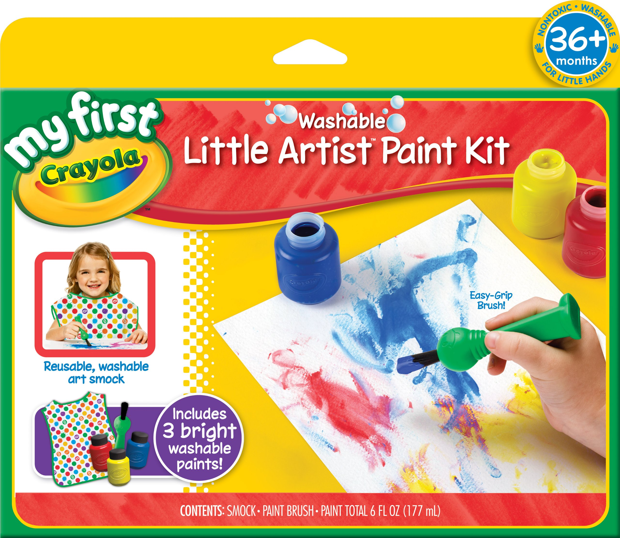 Crayola My First Crayola Painting Kit