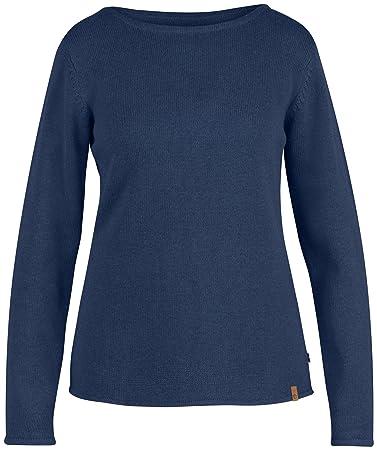 Fjällräven Damen Kiruna Knit Sweater W Pullover   Sweatshirts, Blueberry,  ... e3c6cee1c4