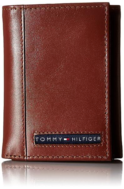 89006735d Tommy Hilfiger Cambridge - portafolios de piel para hombre, Bronceado,  Talla única