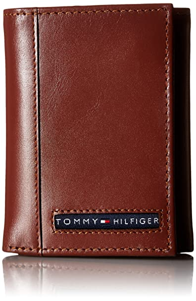 Tommy Hilfiger Leather Mens Wallet Tan