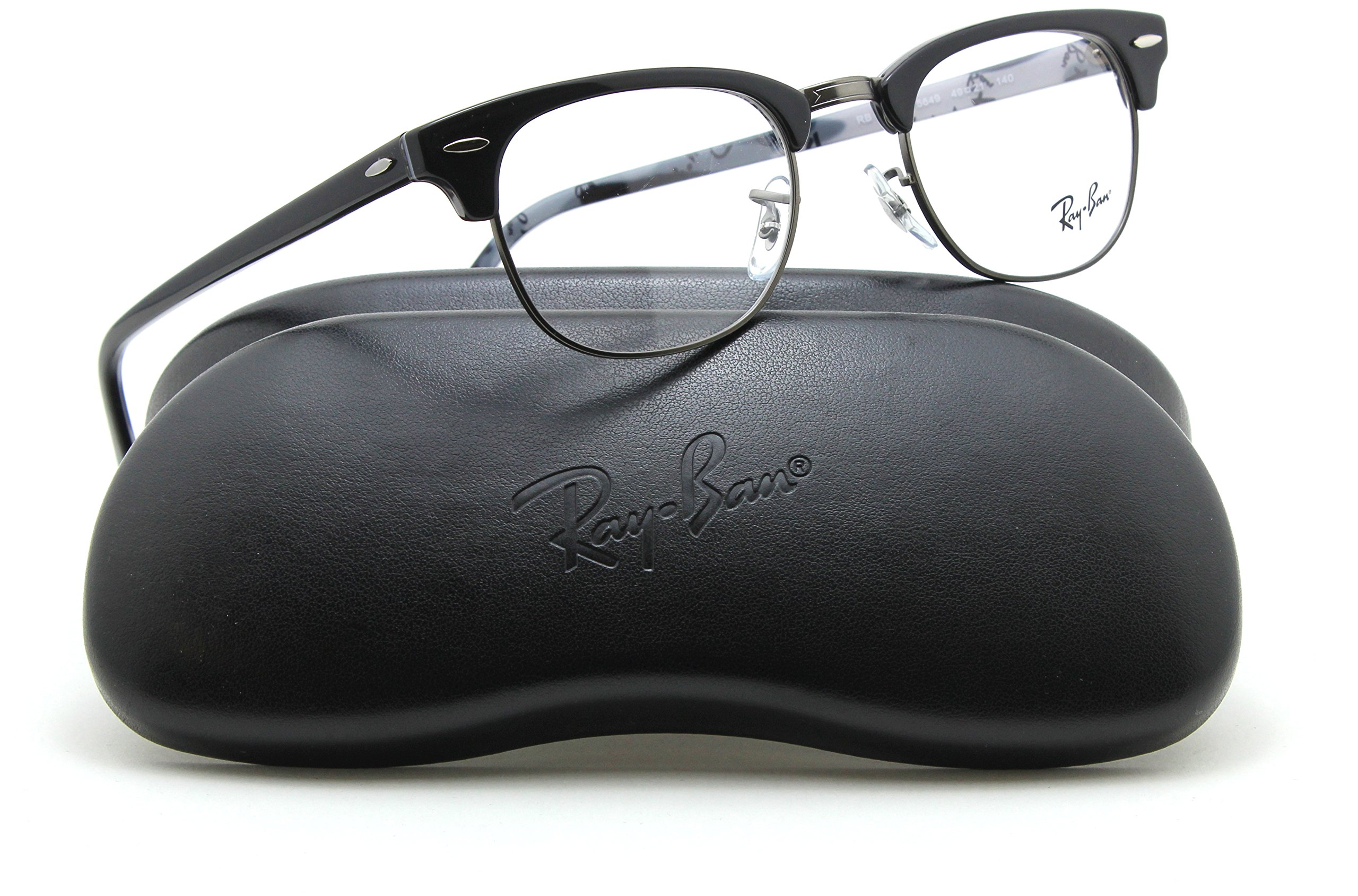 Ray-Ban RX5154 Clubmaster Optics Prescription Glasses 5649 - 49