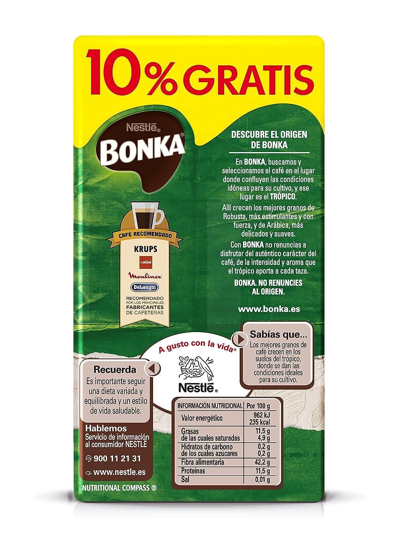Bonka - Café Tostado Molido Mezcla Suave, 250 g: Amazon.es: Alimentación y bebidas