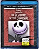 Tim Burton's The Nightmare Before Christmas - 20th Anniversary Edition (Blu-ray / DVD Combo Pack) by Walt Disney Studios Home Entertainment