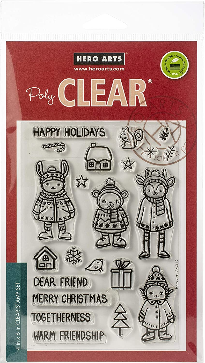 Warm Animals Hero Arts Clear STMP ANMLS us:one size