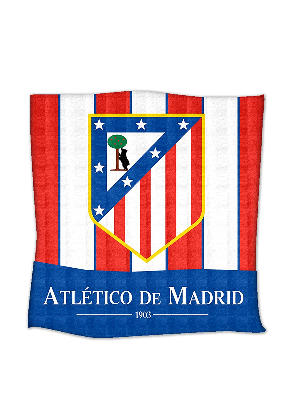 Atlético de Madrid Funda de Cojín Basic Rojo 40 x 40: Amazon ...