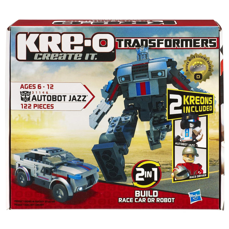 Amazon Kre O Transformers Autobot Jazz Construction Set 31146