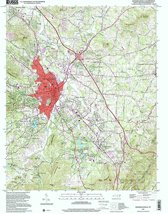 26.8 x 21.9 in Historical YellowMaps Red Rock PA topo map 1995 1:24000 Scale 7.5 X 7.5 Minute Updated 1998