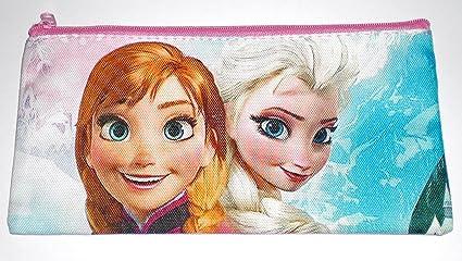 Amazon.com: Disney Frozen Anna/Elsa lápiz/bolígrafo bolsa o ...