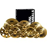 "Meinl Ultimate Cymbal Set Box Pack with FREE 16"" Trash Crash – HCS Traditional Finish Brass – Made In Germany, TWO YEAR WARRANTY (HCS-SCS1)"