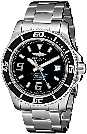 Breitling A17391A8-BA79SS - Reloj de pulsera hombre, acero inoxidable, color plateado