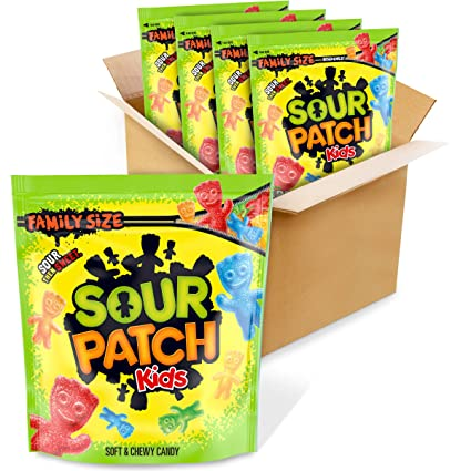 Amazon Com Sour Patch Kids Soft Chewy Candy Easter Candy Family Size 4 1 8 Lb Bags Grocery Gourmet Food