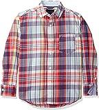 Nautica Baby Boys' Long Sleeve Plaid Woven Shirt