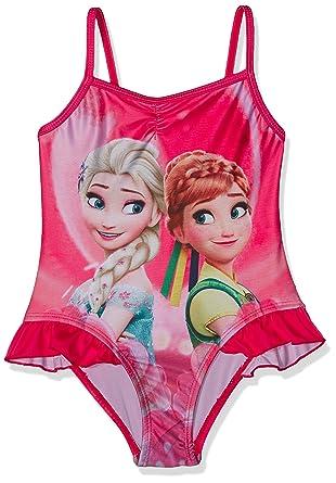 Disney, Traje de Baño de Una Pieza para Niñas: Amazon.es ...