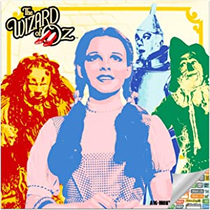 The Wizard of Oz Calendar 2021 Set - Deluxe 2021 The Wizard of Oz Wall Calendar with Over 100 Calendar Stickers (The Wizard of Oz Gifts, Office Supplies)