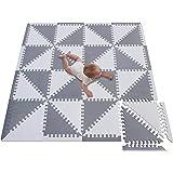 meiqicool - Alfombra Puzzle Infantil para bebés de Foam (EVA), Suelo Extra Acolchado para niños,Alfombras de Juegos…