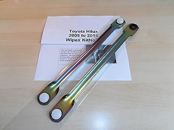 Toyota Hilux 2005 a 2015 Limpiaparabrisas Linkage Set de barra de empuje todos los modelos WIPEX kitno26: Amazon.es: Coche y moto