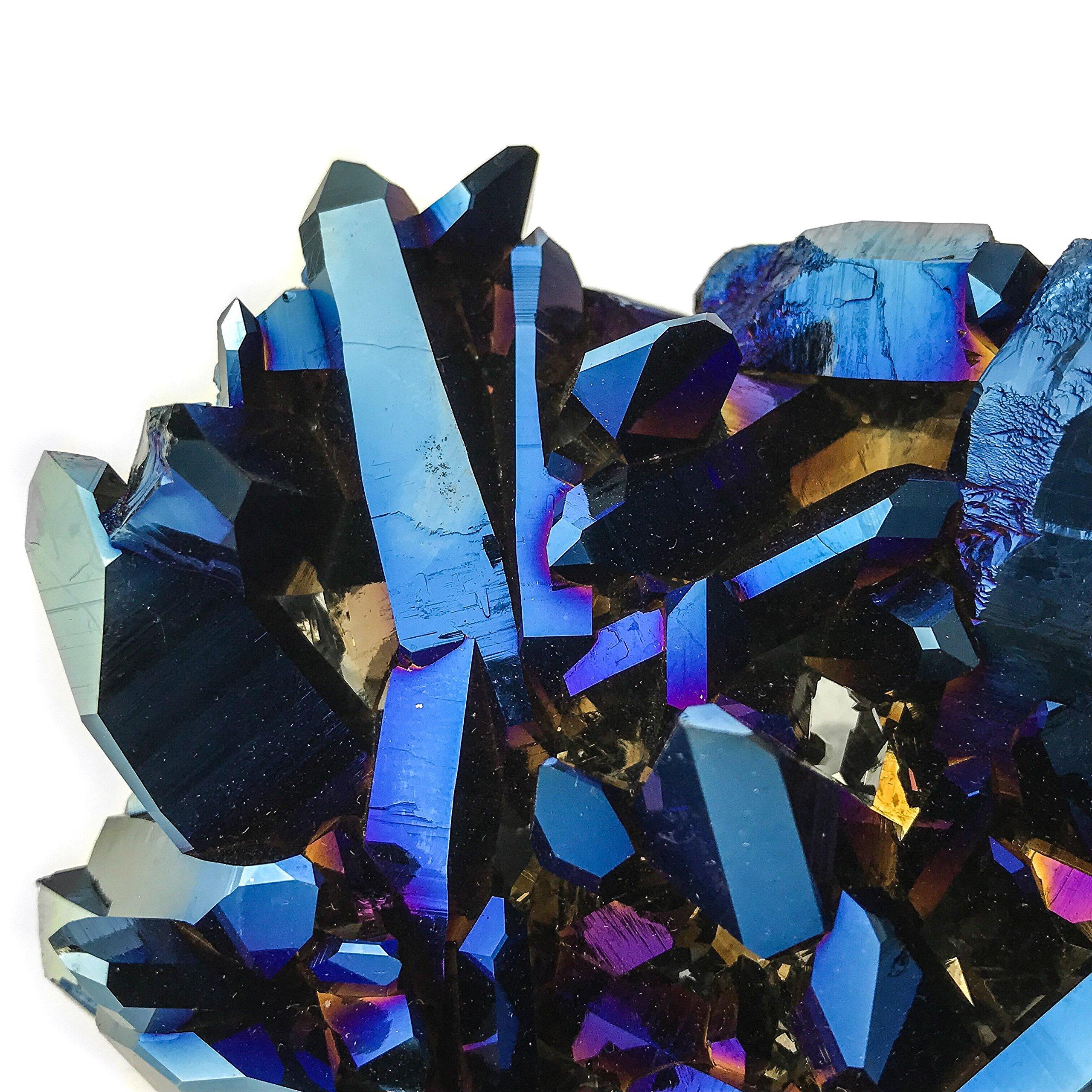 Cobalt Aura Quartz by Astro Gallery Of Gems (Image #4)