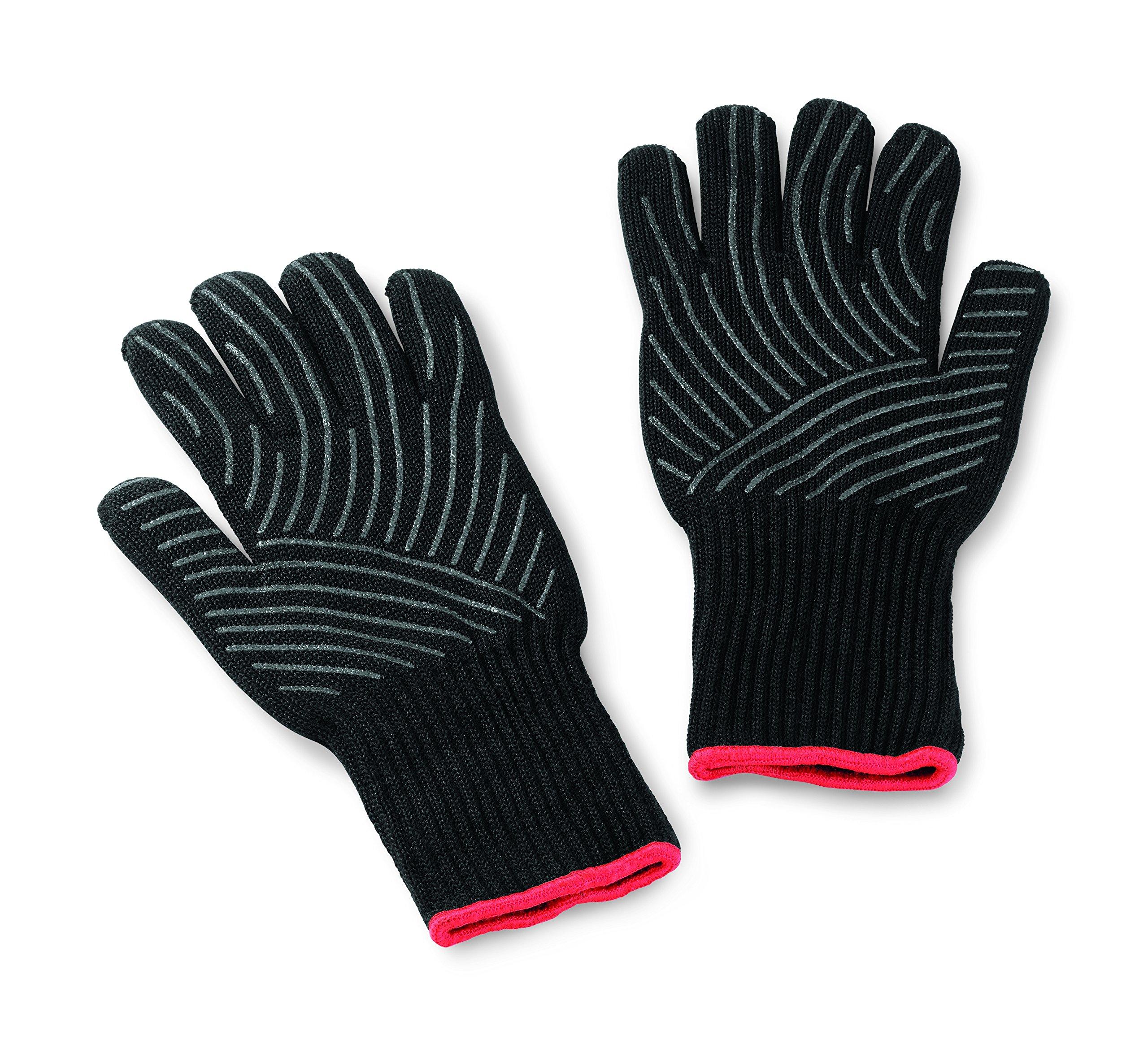 Weber 6670 Large/X-Large Premium Barbeque Glove Set by Weber