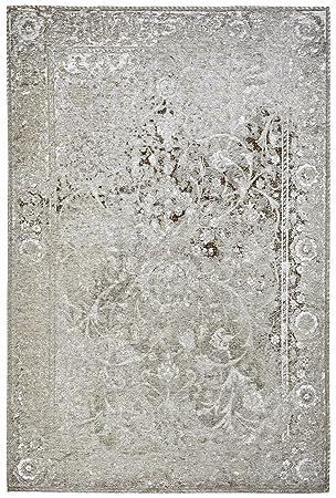 Amazon De Moderner Teppich Vintage My Milano 573 Grau Rot Gelb