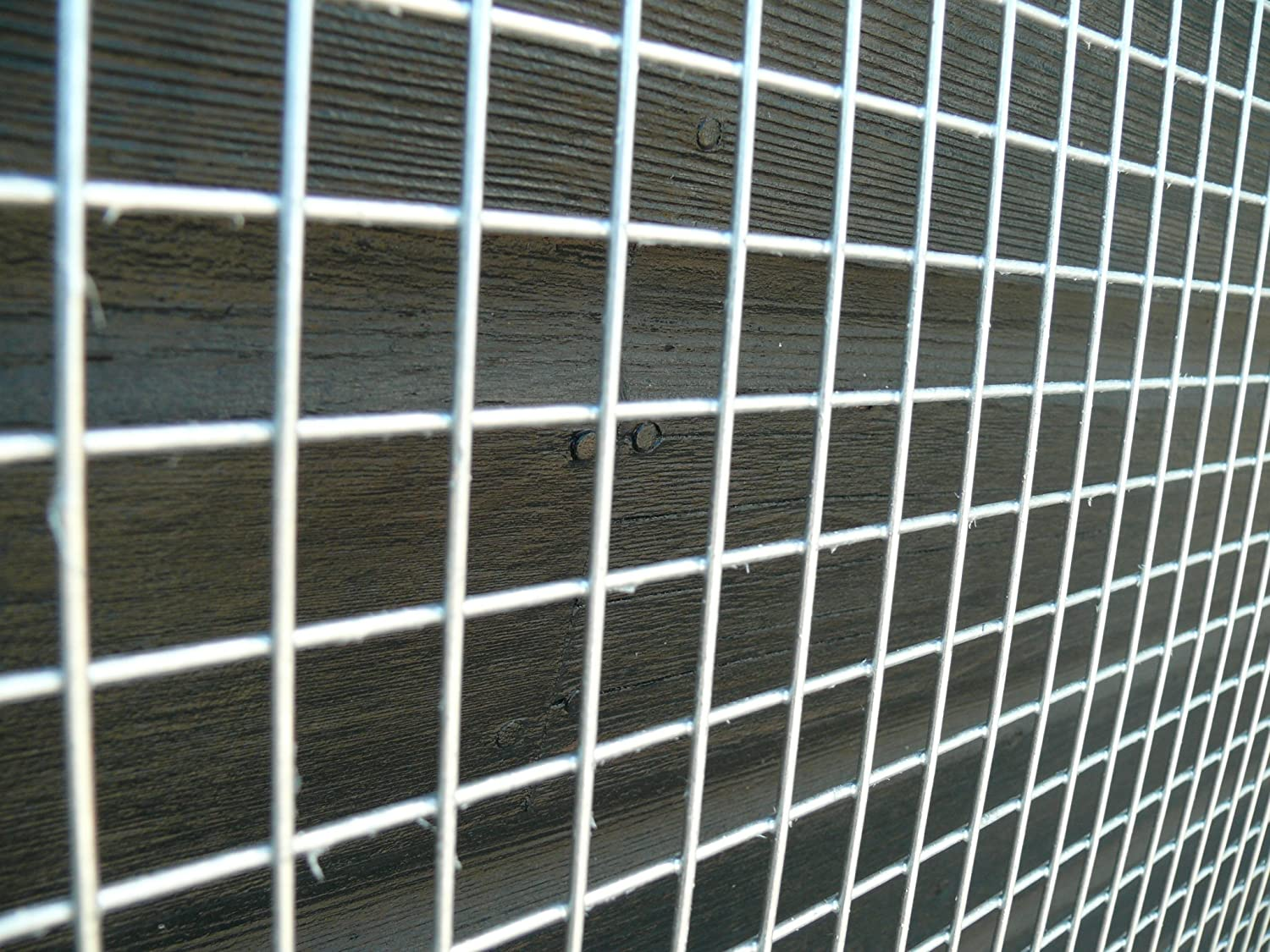 Welded Wire Mesh Panel 8ft x 4ft Galvanised Steel Sheet Metal Grid 1 ...