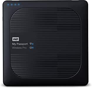 WD My Passport Wireless Pro - Disco Duro Externo portátil de 3 TB ...