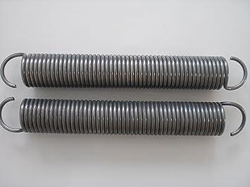 1 Paar Zugfeder für Garagentor 7,5 Draht Durchmesser 65 mm ...