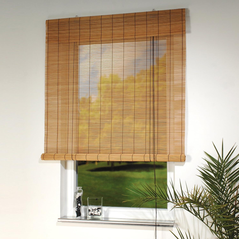 Sehr Amazon.de: Rollo Bambus mit Seitenzug, Bambusrollo für Fenster und  YY64