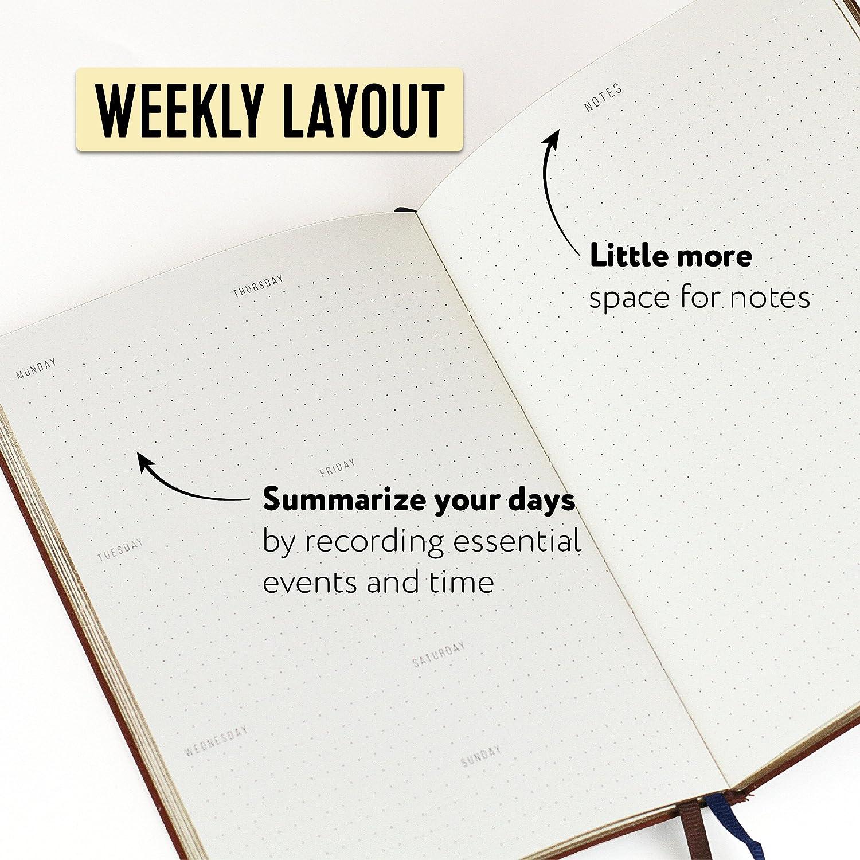 Planificador semanal organizador Le ayudará a mantener el ...