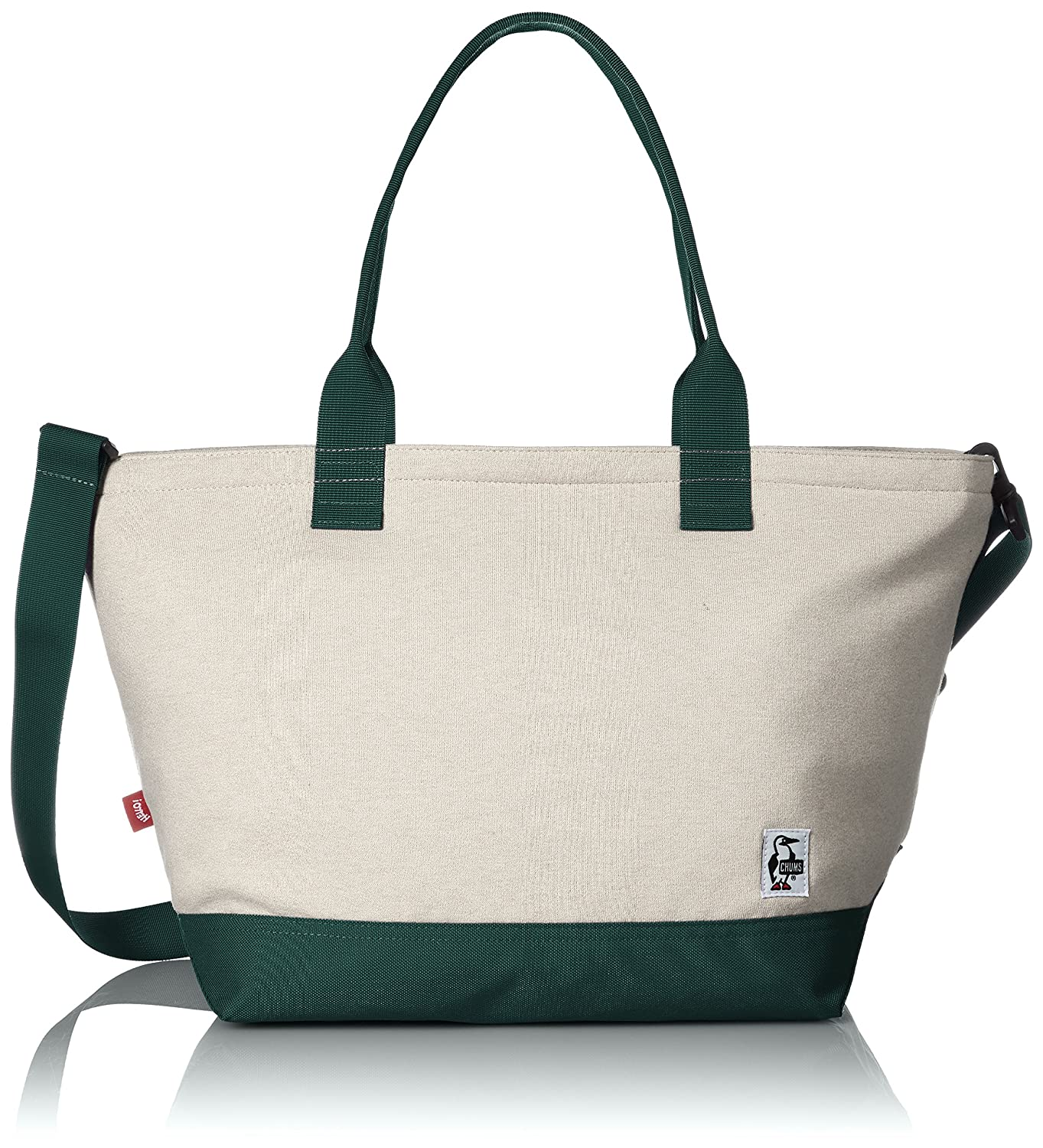 [チャムス] トートバッグ Carry Tote Bag Sweat Nylon CH60-2118-A046-00 B01MSDFXX7 H-Natural/Ivy H-Natural/Ivy