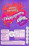 Wonka Fabulicious Raspberry Twister Lollies, 1 Kilograms