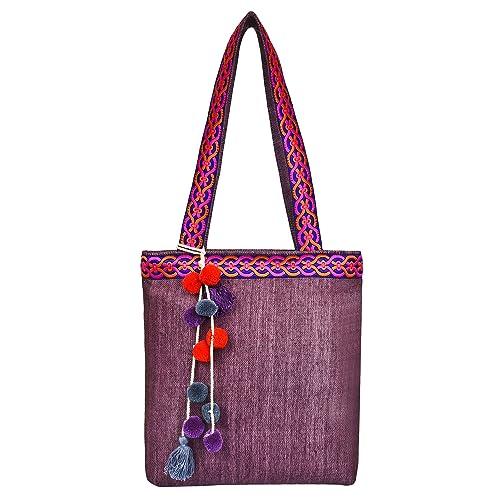 Anekaant Peppy Viscose Tote Bag
