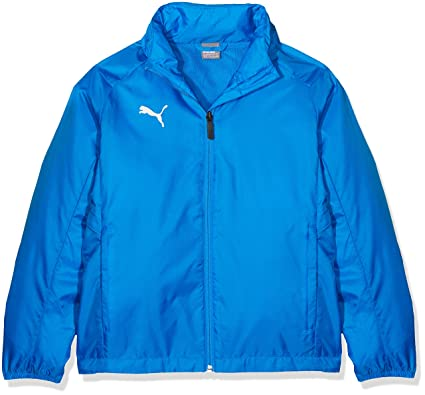 Liga JacketHombreElectric Poly Azul Core Amazon Sideline whiteS Puma Blue Lemonade qSMGzVLpU