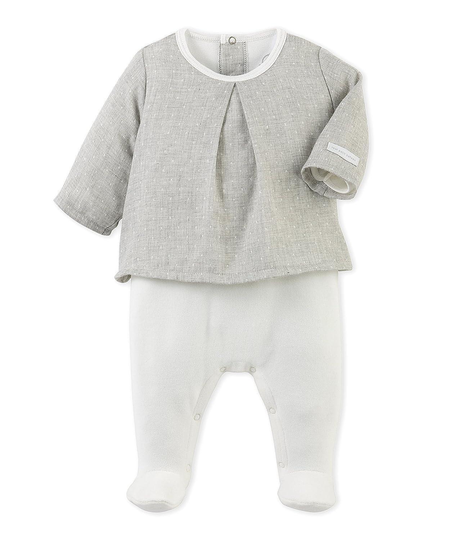 Petit Bateau Unisex Baby Strampler Combiguimpe A Pieds
