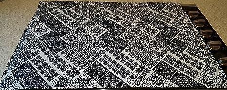 Pennys Needful Things Mosaic Damasco Cubierta & Protector para Cristal / Estufa de cerámica Top -
